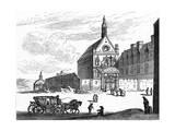 Paris, France - Eglise Des Filles Du Calvaire Giclee Print by Israel Sylvestre