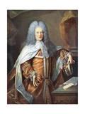 Henry St John Bolingbrok Giclee Print by Hyacinthe Rigaud