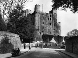 Rochester Castle Photographic Print by J. Chettlburgh