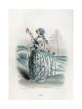 Grandville Flax 1847 Giclee Print by JJ Grandville