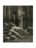 Murder, Finding Body, 1885 Premium Giclee Print by Henry Meyer