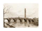 Kew Bridge Giclee Print by JH Herring