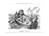 Spithead Review Cartoon 1897 Giclee Print by John Tenniel