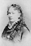 Cora L V Scott, American Spiritualist Medium Photographic Print by Henry Dixon