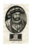 King Henry VIII of England Giclee Print by J Chapman