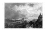 General View 1850 Giclee Print by JN Clowacki