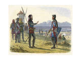 Scene at Crecy 1346 Premium Giclee Print by James Doyle