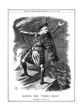 We Gladstone, Tartan Giclee Print by John Tenniel