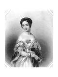 Wellington, Wife of 2nd Duke of Wellington Giclee Print by John Hayter