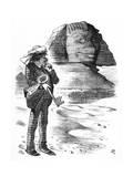 Benjamin Disraeli Buys Suez Canal Shares Giclee Print by John Tenniel
