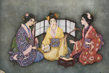 Racial, Japan, 3 Women Photographic Print by Jennie Harbour