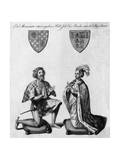 Richard Earl of Arundel Giclee Print by James Basire