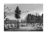 Camp in St James Park Giclee Print by James Fittler