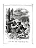 We Gladstone, Singing Giclee Print by John Tenniel