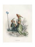 Grandville Nasturtium Giclee Print by JJ Grandville