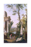 Classical Landscape Giclee Print by JC Jacobi