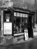 Newsagents 1930S Photographic Print by J. Chettlburgh