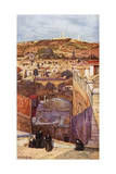Jerusalem, Mount Olives Giclee Print by John Fulleylove