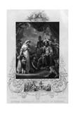 Alfred the Great Frees the Family of Hastings Giclee Print by J. Rogers