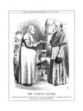 Cardinal Manning and Pope Giclee Print by John Tenniel
