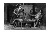 Scottish Inn Scene C1800 Giclee Print by J. Scott
