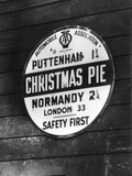 Christmas Pie Photographic Print by J. Chettlburgh