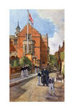 Street Scene, Harrow School Giclee Print by John Fulleylove