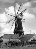 Heckington Windmill Photographic Print by J. Chettlburgh