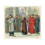 Eleanor of Gloucester Giclee Print by James Doyle