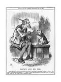 Randolph Churchill Ctn Giclee Print by John Tenniel