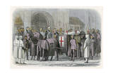 Funeral of King Richard II Giclee Print by James Doyle