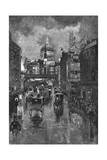 Ludgate Hill Giclee Print by Joseph Pennell