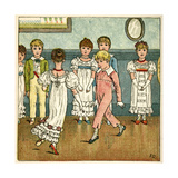 Children Dancing at a Party Giclee Print by Kate Greenaway