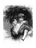 Elizabeth Sheridan Giclee Print by John Hoppner