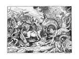 Ragnark Giclee Print by Johannes Gehrts