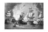Battle of Navarino 1827 Giclee Print by J. Godfrey