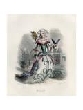 Grandville Carnation Giclee Print by JJ Grandville