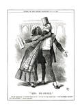 We Gladstone, Micawber Giclee Print by John Tenniel