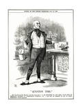 We Gladstone, Question Ti Giclee Print by John Tenniel