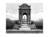 Paris, France - Fontaine Des Innocents Giclee Print by J. Chapman