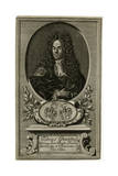 Tobias Grantz, Teacher of Law, Judge and Advocate Giclee Print by Johann Gottfried Krugner