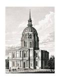Paris, France - Chapelle Des Invalides Giclee Print by J. Tingle