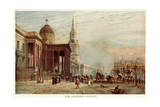 London, National Gallery Giclee Print by John Fulleylove