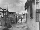 Slum Housing in Naples, Italy Photographic Print by Jean Finzi