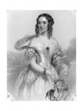 Charlotte D. Marlborough Giclee Print by John Hayter