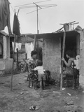 Slum Housing - Naples Photographic Print by Jean Finzi