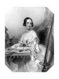 Emily Countess Craven Giclee Print by John Hayter