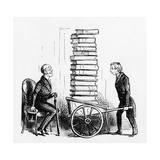 A Bibliophile Giclee Print by John Leech