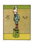 Dunce at School Giclee Print by John Hassall