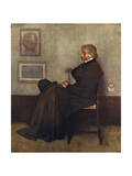 Carlyle (Whistler Col) Giclee Print by James Abbott McNeill Whistler